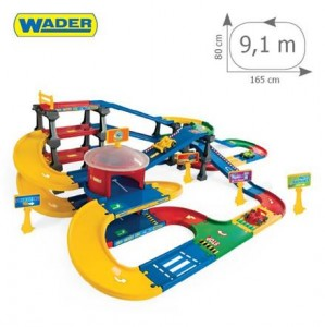 WADER 53070 Kid Cars 3D - Multi Parking z Trasą 9,1m