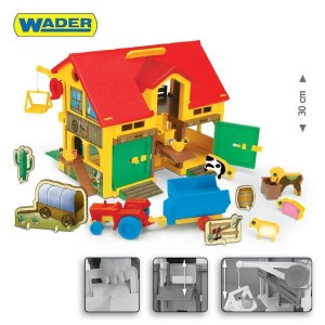 WADER 25450 Play House - Farma