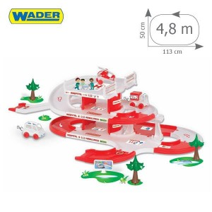 WADER 53330 Kid Cars 3D - Szpital